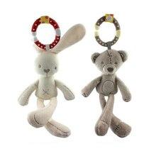 New Arrival Mini Cute Soft Bunny Sleep Rabbit Bear Appease Doll Lovely Baby Plush font b
