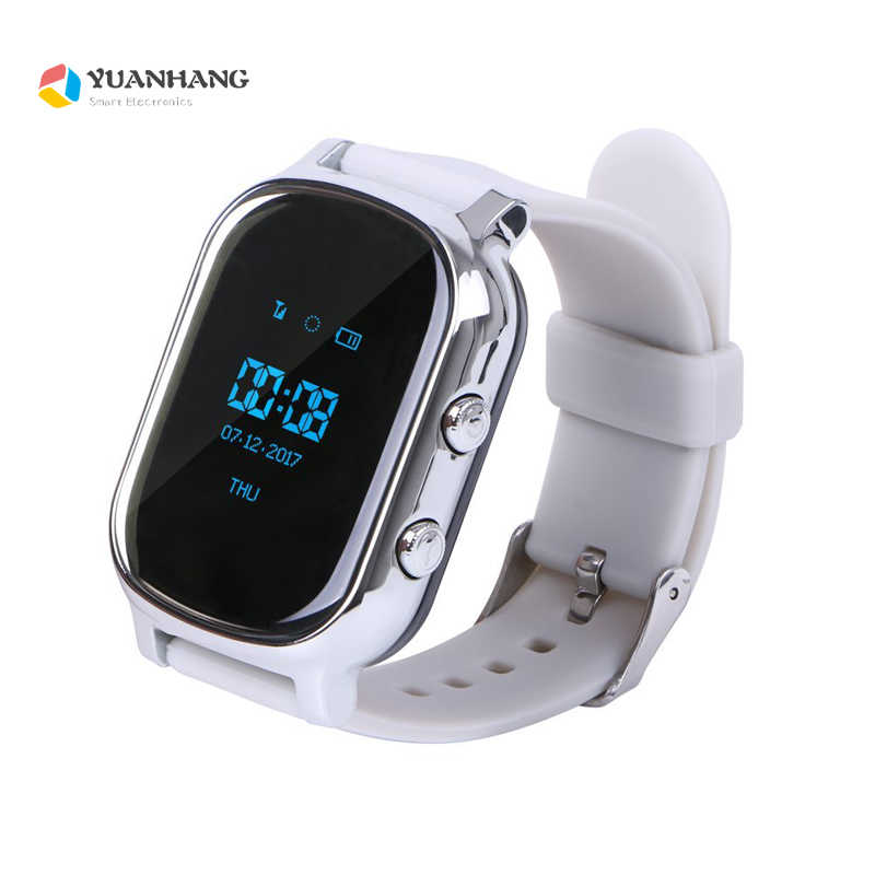GPS Tracker Smart Watch T58 for Kids Children Elder GPS Bracelet Google Map Sos Button Tracker Gsm GPS WI-FI Locator Smartwatch