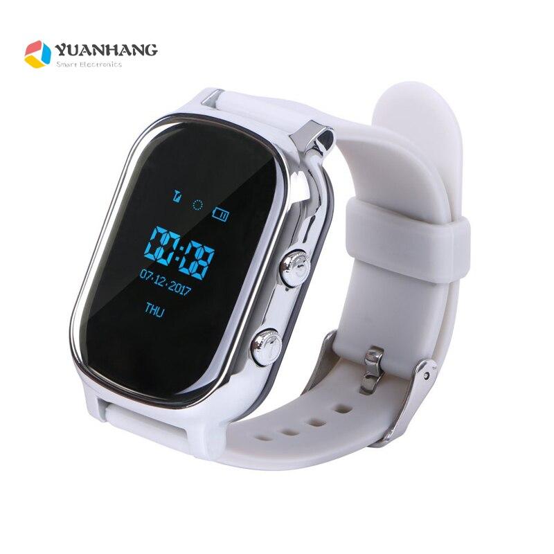 Gps трекер Смарт-часы T58 для детей старшего gps браслет карт Google кнопка Sos трекер Gsm gps Wi-Fi локатор Smartwatch