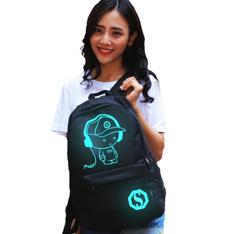 New Children School Backpack Student Luminous Animation School Bags For Boys USB Charge Computer Anti-theft Laptop Backpack lumion настольная лампа lumion jackie 3704 1t page 3