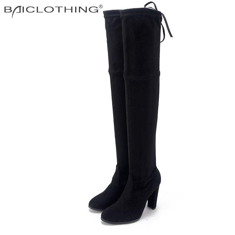 Online Get Cheap Thigh High Boots Size 8 -Aliexpress.com | Alibaba ...