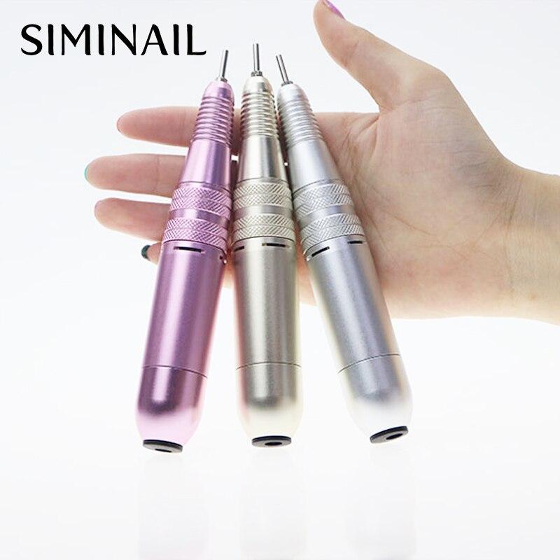 conjunto caneta manicure máquina pedicure arquivo do