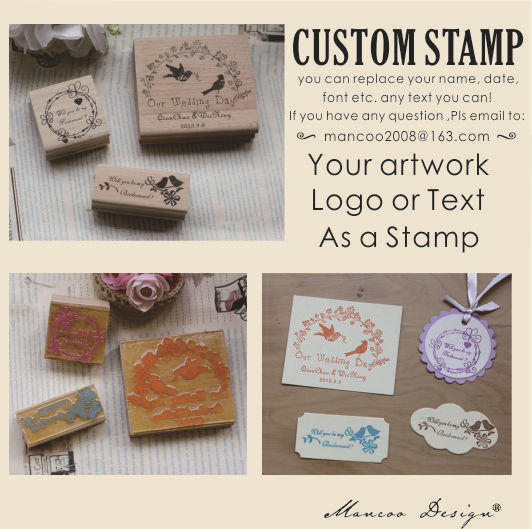 Personalised Rubber Stamps custom stamp