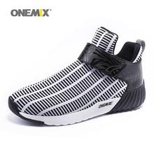 Newest Onemix warm height increasing shoes winter men &
