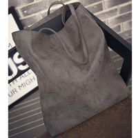 2017 Designer Women Scrub Leather Shopping Bags Reusable Shopping Bag Large Capacity Handbags Shoulder Bags wiht wallet