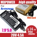 MDPOWER For LENOVO ThinkPad T61P W500 W510 W520 W530 Notebook laptop power supply power AC adapter charger cord 20V 4.5A