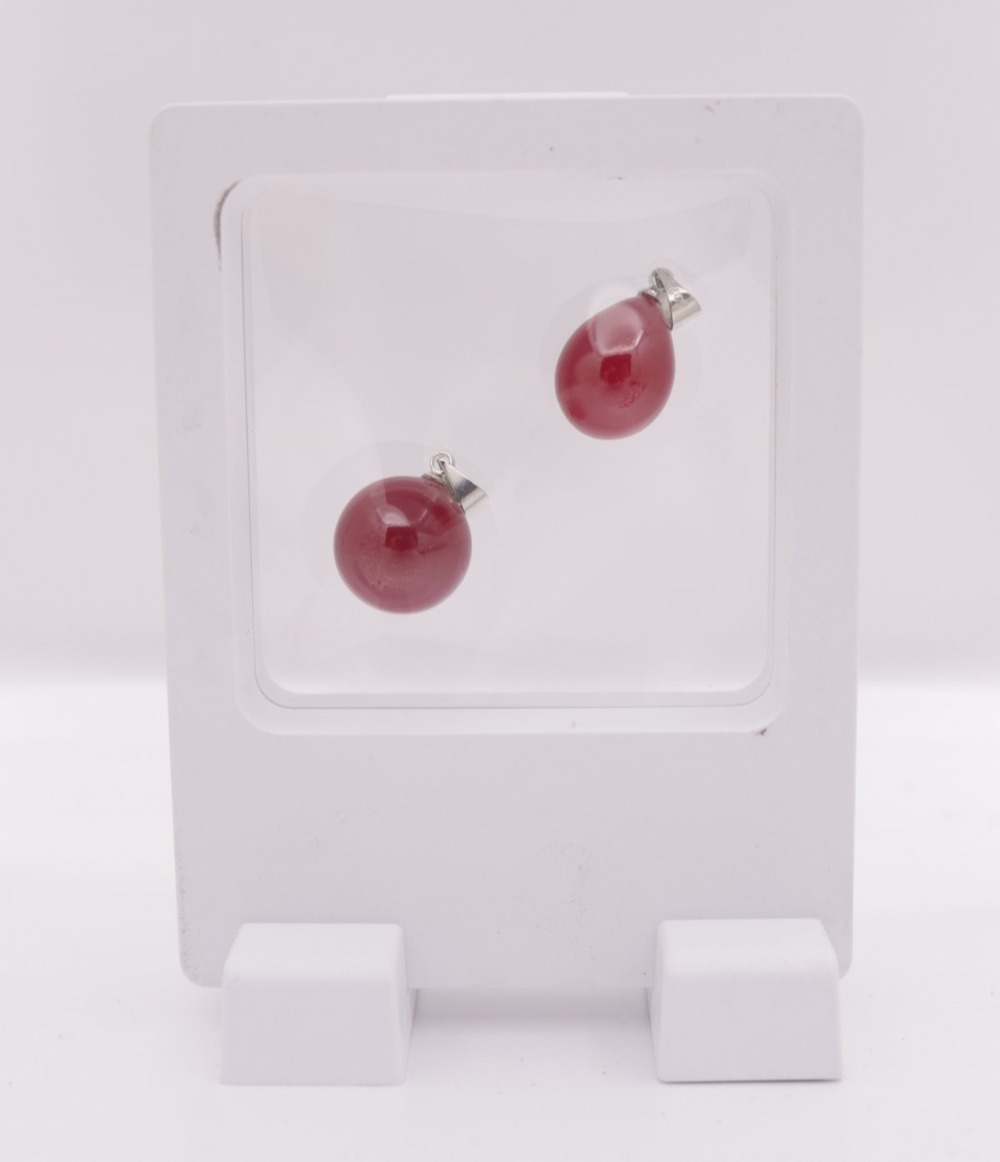 New Suspend in Midair White Resin Ring Pendant Display Clear Holders 7X9cm 9X9mm 9X11cm 11X11cm 18X20cm Choose