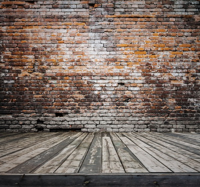 HUAYI Vintage Brick Wall Backdrop Art Fabric Photography Newborn Studios Drop Background D-3489