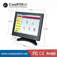 Multi language POS All In One Touch Cash Register With Touch Screen POS Windows Tablet