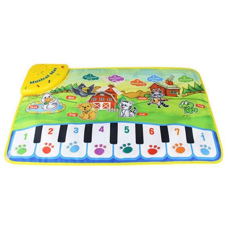 Baby Musical Carpet Kids Play Mat Baby Educational Mat Electronic Kids Toys