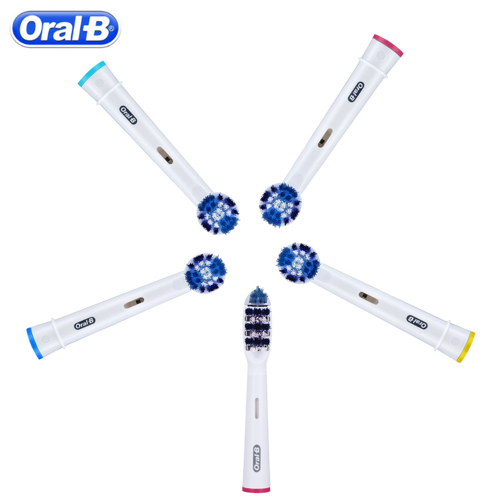 Oral B Electric Toothbrush Replacement Heads EB30 Trizone Brush Heads EB20 Precision Clean Electric Toothbrush Head image