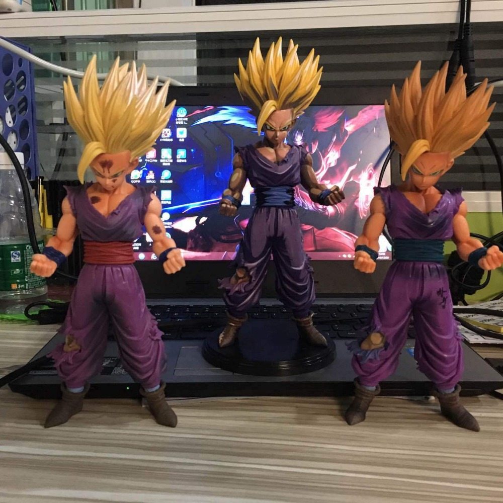 Anime Dragon Ball Z MSP Son Gohan Master Stars Piece 24cm New dbz Action Figures Dragonball Collectible Model Toy For Collection anime dragon ball super saiyan 3 son gokou pvc action figure collectible model toy 18cm kt2841