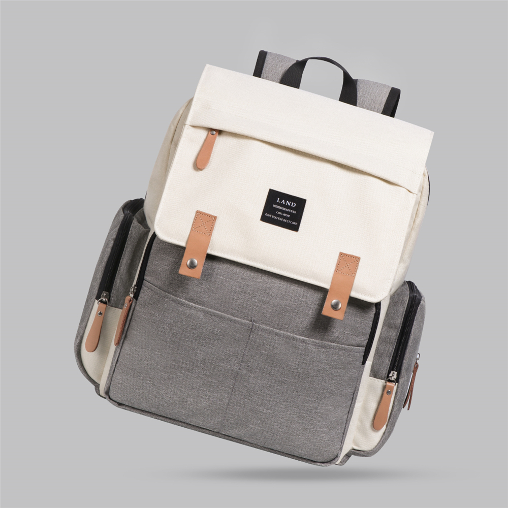 HTB1jP.LaBKw3KVjSZFOq6yrDVXak LAND Mommy Diaper Bags Landuo Mother Large Capacity Travel Nappy Backpacks with changing mat Convenient Baby Nursing Bags MPB86