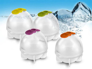 3,5/5,5 см круглая форма для льда, кубик, форма для изготовления шариков, прозрачный пластиковый охлаждающий шарик льда для виски, прозрачная П...