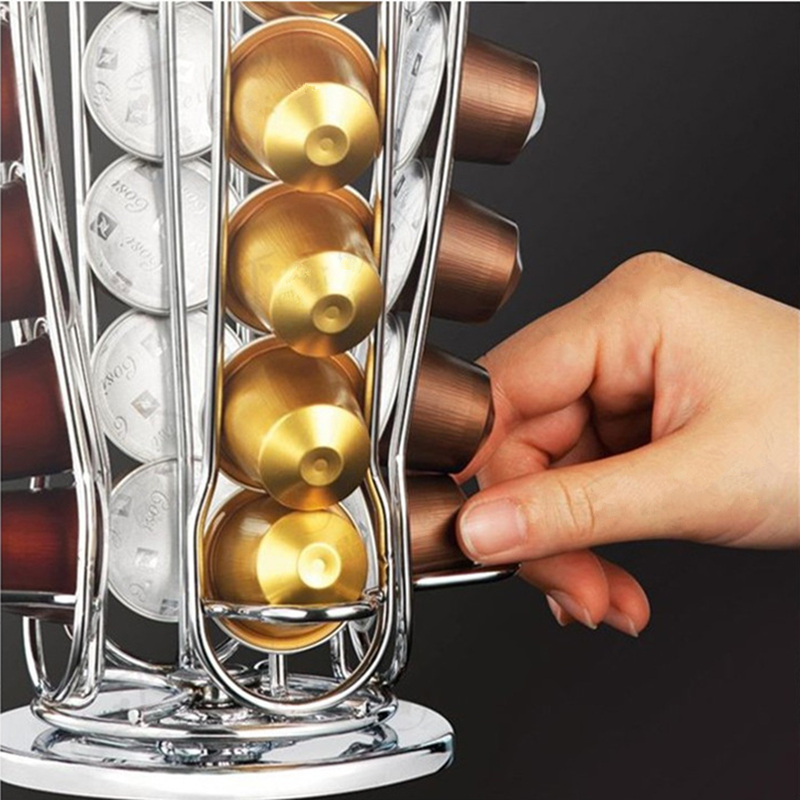 Rotatable-40-Cups-Nespresso-Capsule-Storage-Rack-Rotary-Coffee-Pod-Holder-Tower-Stand-Iron-Coffee-Pods