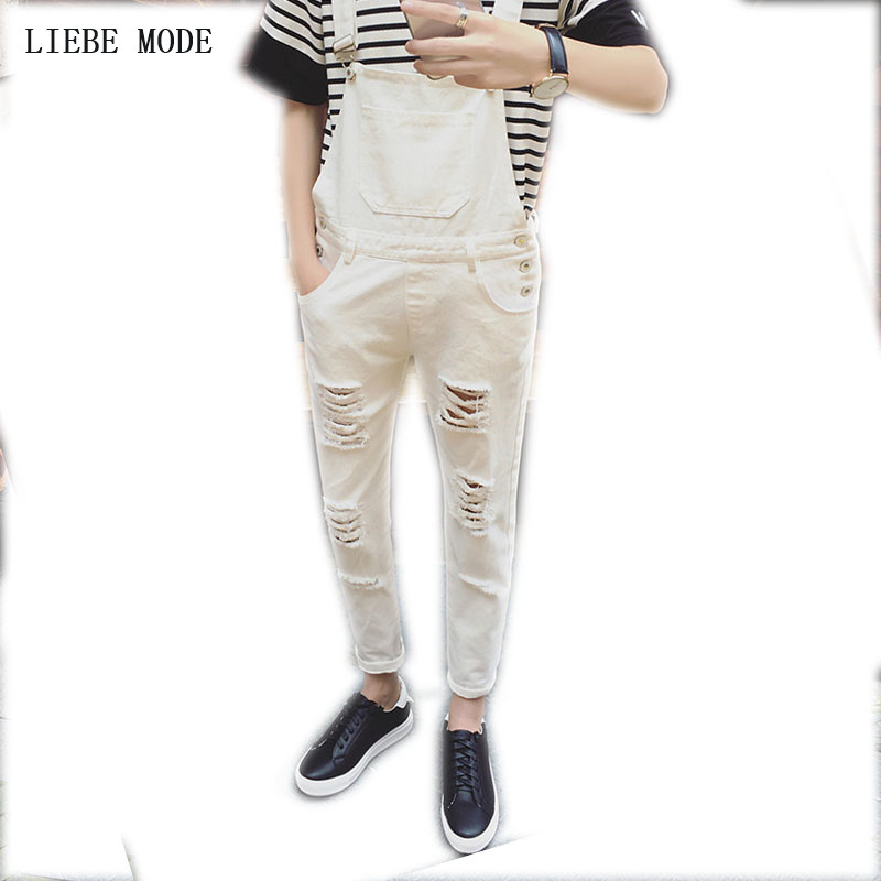 6a65f41f5e3e Buy white overalls mens and get free shipping on AliExpress.com