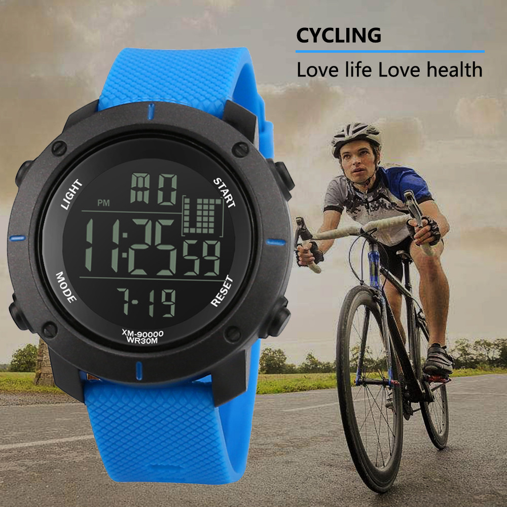 Men Wristwatches Analog Digital Military Army LED Waterproof watch electronic male watch digital led sports watches men