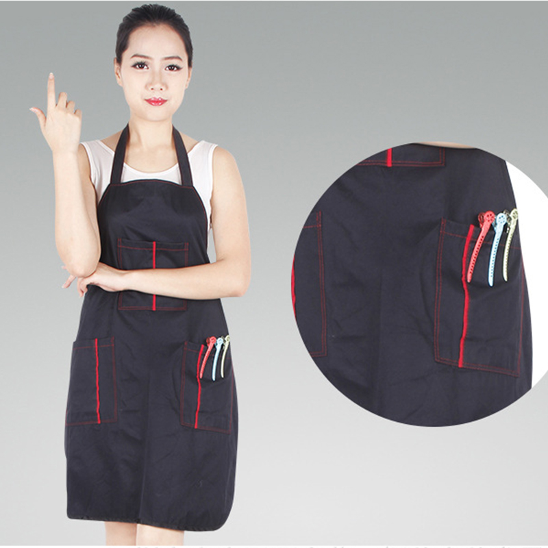 Buy free shipping black adjustable apron for Uniform spa italy
