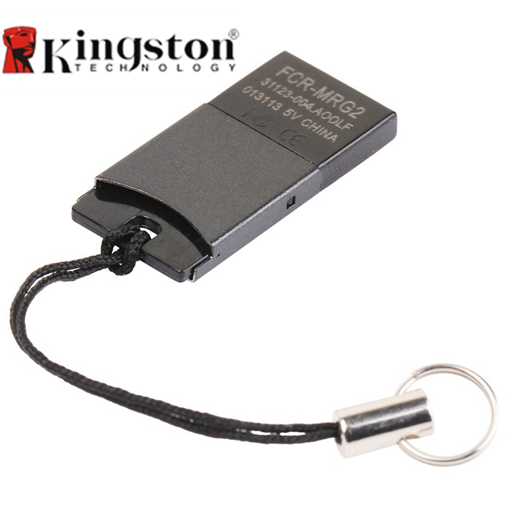 Kingston USB 2.0 TF Card Reader SD Adapter Micro SD Micro SDHC Micro SDXC Adapter For Mobile Phone Flash Memory Card Reader llano card reader mini usb 2 0 sd micro sd tf otg smart card reader for samsung kingston memory cards reader usb sd adapter