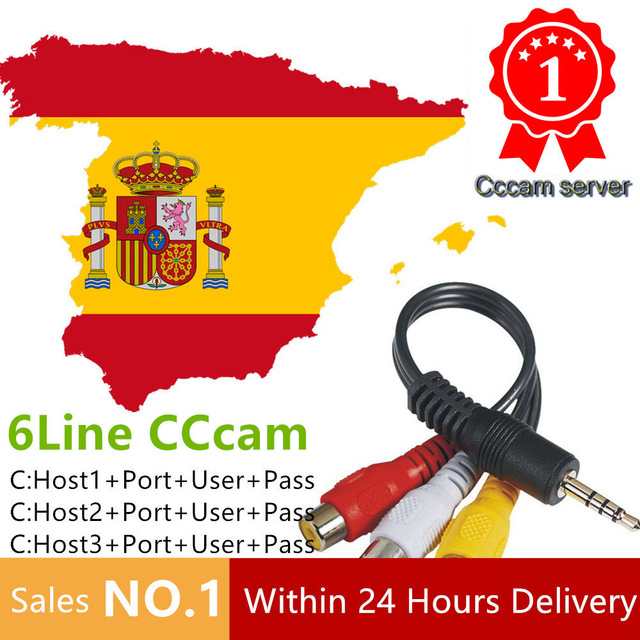 HD Cccams Cline for 1 year Europe Free Satellite Ccam Account 1080P Sever Italy/Spain/Poland/Germany IKS Europe 1 Year TV Cable