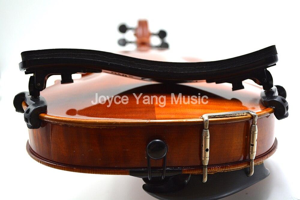 Black Spone Pad 4/4-3/4 1/2 1/4-1/8 Full Size Common Violin Shoulder Rest Violin Shoulder Pads Free Shipping