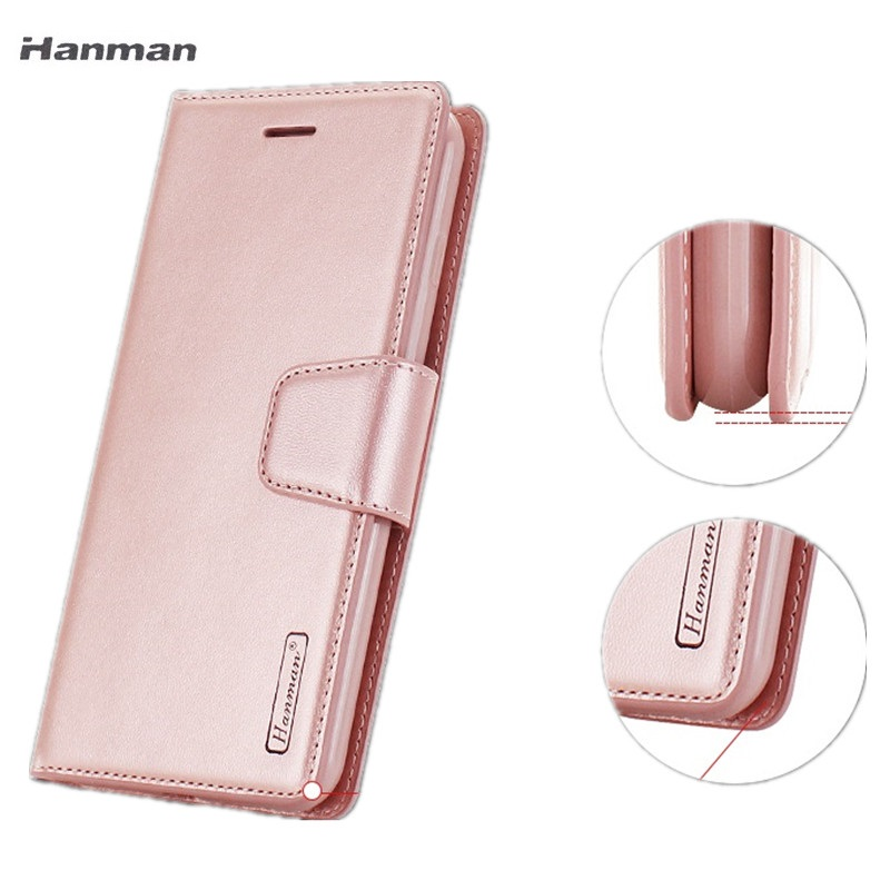 Hanman Wallet Leather Case for Xiaomi Mi Max2 6 5X A1 Redmi Note5A 5A 5 PLUS Note 4x Note 5 Plus Magnetic Flip Cover Case Shell