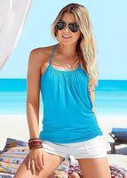 Ebay Europäische Außenhandel Anzug-kleid Sommer Sexy Sandstrand Falsche 2 Papier Weste-unterhemd Ungefüttert Obergewand 1166