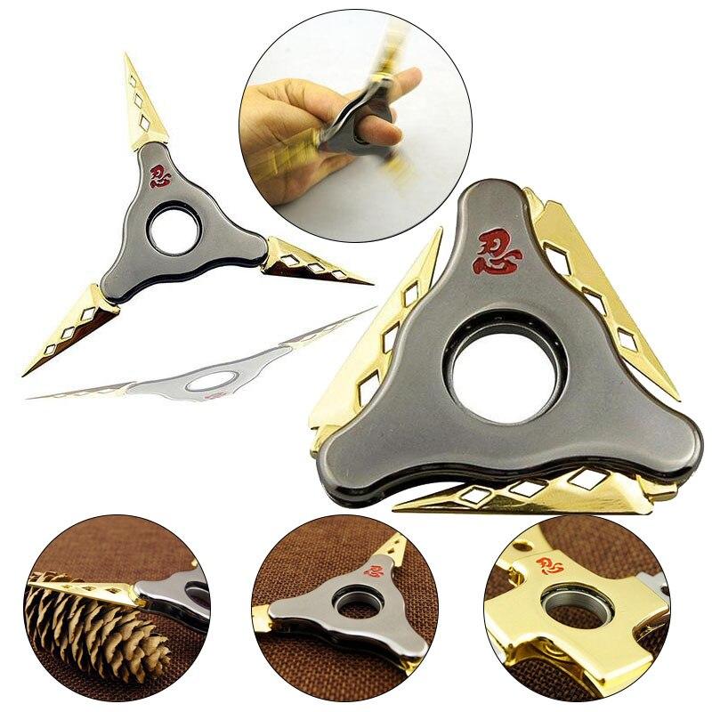 Foldable Fidget Blade Rotary Hand Spinner Autism Fidget Spinner Toys Stress Reducer