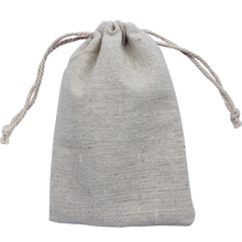 customize size and logo (50pcs/lot)15x20cm/6x7.8inch 170g/m2 100% natural linen bag cotton drawstring promotional bags pouch