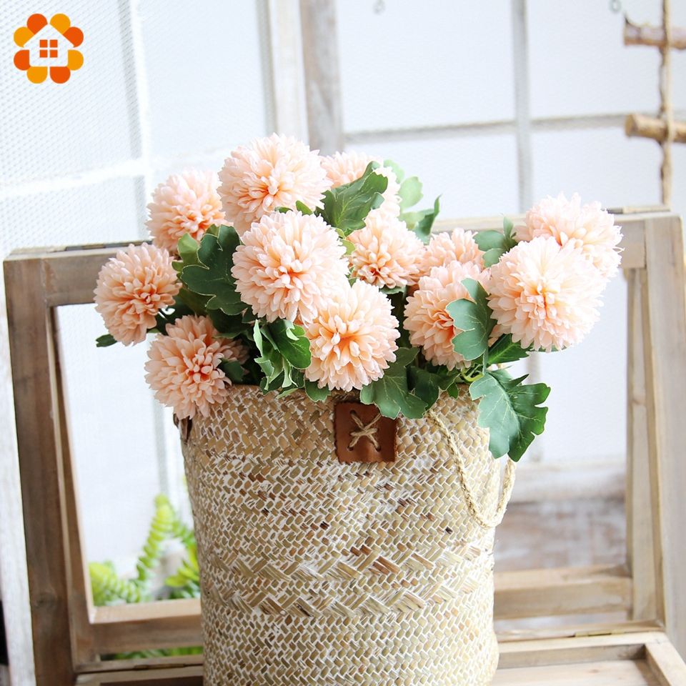 Artificial Flowers Home Decor: Aliexpress.com : Buy 2 Heads/Branch Artificial Flowers