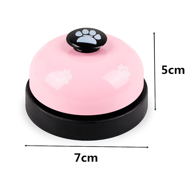 Pet Dog Training Dinner Bell Dog Cat Interactive Toy Training Accessories Puppy Dog Feeder Ring Trainer Funny Products For Dog-2