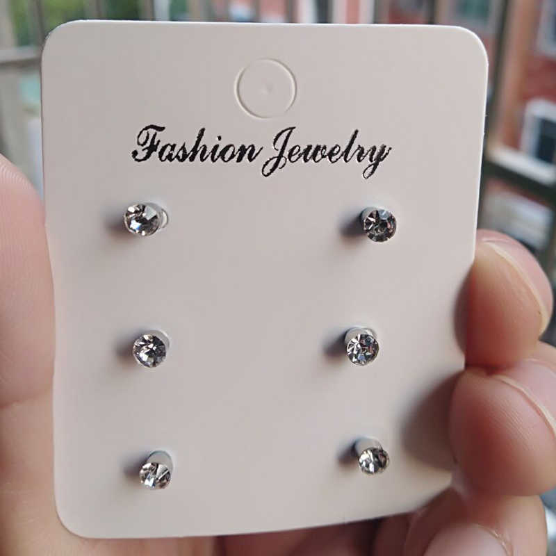 6 Pcs Of Magnetic Nose Stud Non Piercing Nose Lip Labret Stud Magnet Tragus Helix Body Jewelry