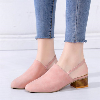 COOTELILI Shoes Woman Casual Fashion Sandals For Women Shoes Low Heels Summer Closed Toe Slip on bwb women pumps shoes woman loafers summer shoes for women fashion sweet casual women s shoes low heeled sole