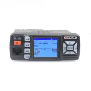 Image 4 - BJ 218 Nâng Cấp VisionBaojie Bộ Đàm BJ 318 25W 2 Băng Tần 136 174 Và 400 490MHz FM Trên Ô Tô đài Phát Thanh BJ318 VHF UHF Mini Radio Di Động