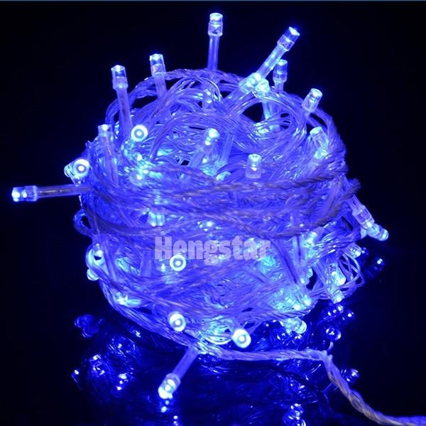 220v UE wtyczka 20m 200led rgb led fairy string światła na święto - Oświetlenie wakacje - Zdjęcie 6