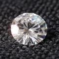 Preço de atacado 0.5ct 5mm F Cor Lab Grown Moissanite Diamante Lab Grown Moissanite Diamante Corte Redondo Solta Teste Positivo