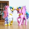 Twilight Sparkle Rainbow Dash Princesa Celestia Figura Brinquedos PVC Modelo Dolls Melhor Presente Coletivo Brinquedos 14 cm Frete Grátis