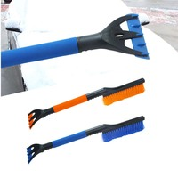 Dongzhen Car Snow Brush Scraper Shovel Snowbrush Ice Scrapers Vehicle Cleaning Tools Removal Brush Winter Car