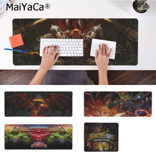 MaiYaCa Beautiful Anime Hearthstone Large Mouse pad PC Computer mat Rubber PC Computer Gaming mousepad maiyaca hot sales anime steins gate natural rubber gaming mousepad desk mat large lockedge mousepad laptop pc computer mouse pad
