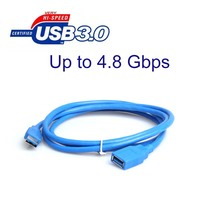 10pcs 3ft USB 3.0 High Speed SuperSpeed Extension Cable A Male to A Female