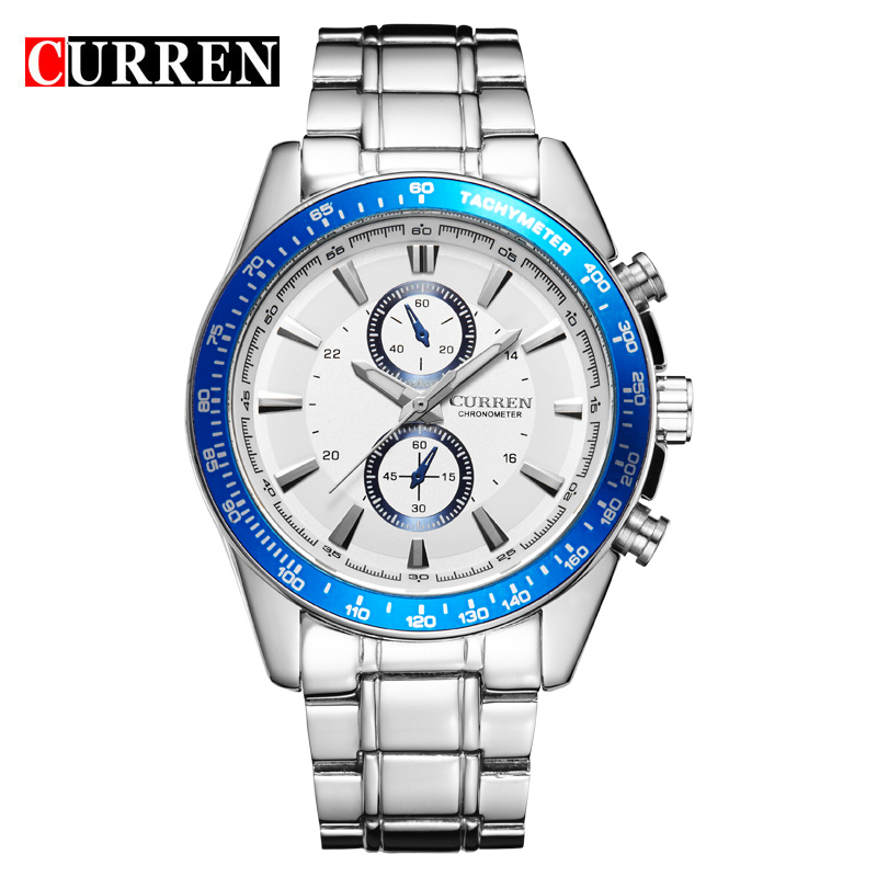 FASHION Contracted Business Man Calendar Watches Neutral Waterproof Watches Big Dial New Fashion Watches A Mans Watch For Lover