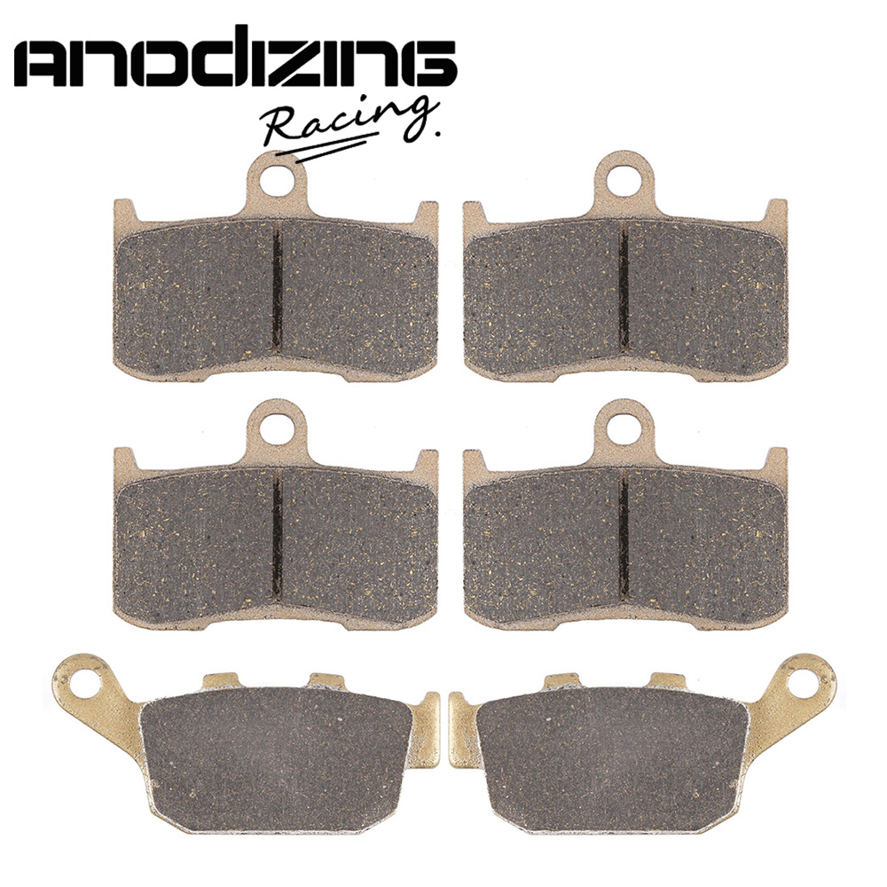 Motorcycle Front and Rear Brake Pads For KAWASAKI ZR800 Z800 2013-2016 motorcycle front
