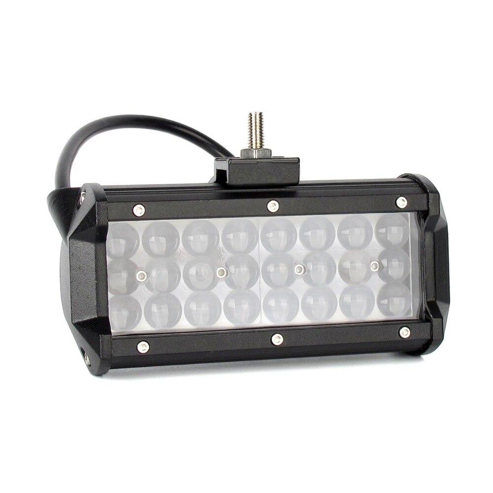 Image 2 - 4D Projector Lens Niva 4x4 Offroad Led Light Bar For Spot Beam Car Truck Tractors Motorcycle Boat ATV SUV Work Lights Spotlights-in Light Bar/Work Light from Automobiles & Motorcycles