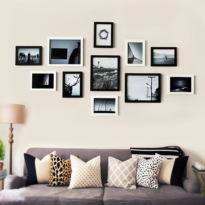 Living Room Decor Sweet Family Happiness Collection Wooden Frame Wall Sets Wedding Decoration In