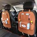 Автомобильная сумка для хранения на заднем сиденье организатор ящик чехлы из фетра АВ Универсальный заднем сиденье автомобиля держатель м...
