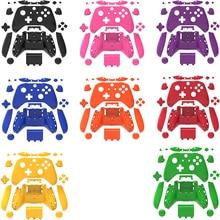 Tam konut Shell kılıf seti Faceplates + ABXY düğmeler + RB LB tamponlar + sağ/sol rayları Xbox one S Slim denetleyici onarım