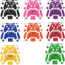 Volledige Behuizing Shell Case Set Frontjes + Abxy Knoppen + Rb Lb Bumpers + Rechts/Links Rails Voor Xbox een S Slim Controller Reparatie