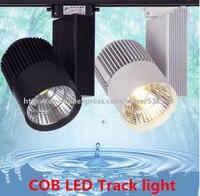 1PCS COB LED Track Light 20W 30W COB Rail Light Spotlight strip Track Lamp Rail Lamp Bulb