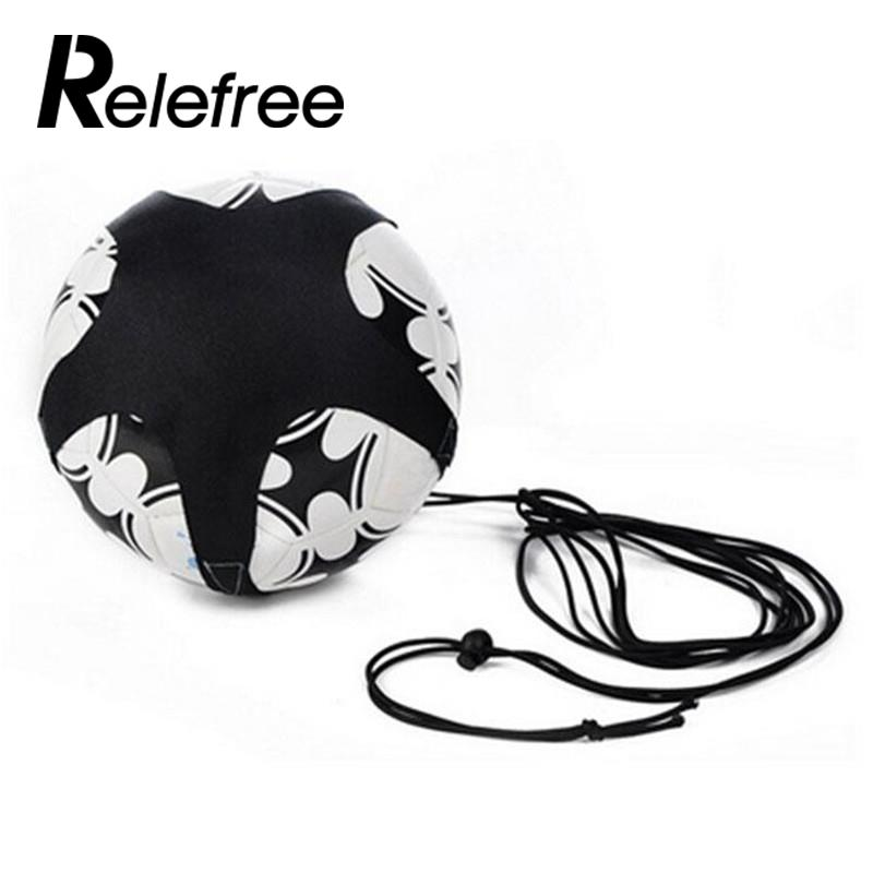 Soccer Ball Juggle Bags Children Auxiliary Circling Belt Kids Football Training Equipment Kick Solo Soccer KickTrainer