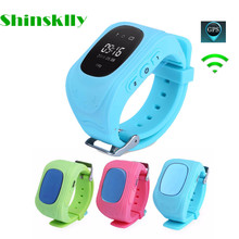 Compatible with IOS & Android Anti Lost Q50  Child GPS Fitness Tracker Smart Monitoring Positioning Phone GPS Kids Smart Watch
